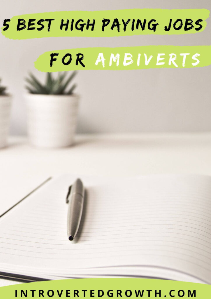 5 Best High paying jobs for ambiverts
